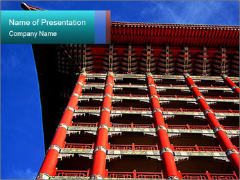 Chinese style PowerPoint Template - Slide 1