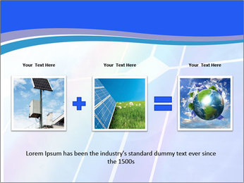 Solar panel PowerPoint Template - Slide 22