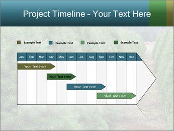 Christmas Tree Farm PowerPoint Template - Slide 25