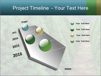 Christmas Tree Farm PowerPoint Template - Slide 26