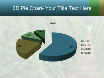 Christmas Tree Farm PowerPoint Template - Slide 35