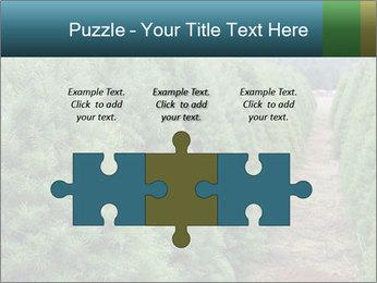 Christmas Tree Farm PowerPoint Template - Slide 42