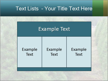Christmas Tree Farm PowerPoint Template - Slide 59