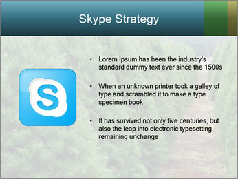 Christmas Tree Farm PowerPoint Template - Slide 8