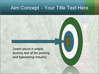 Christmas Tree Farm PowerPoint Template - Slide 83
