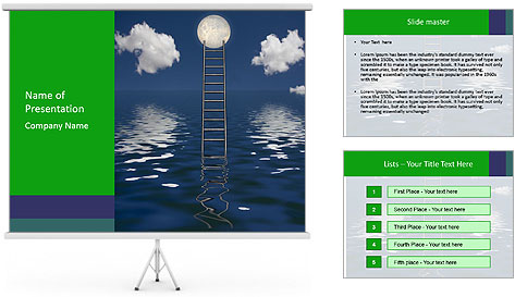 Body of Water PowerPoint Template