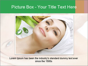 Smiling woman PowerPoint Template - Slide 15