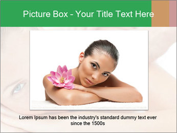 Smiling woman PowerPoint Template - Slide 16