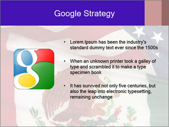 Mexican and American flags PowerPoint Template - Slide 10