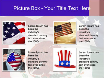 Mexican and American flags PowerPoint Template - Slide 14