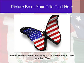 Mexican and American flags PowerPoint Template - Slide 16