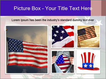Mexican and American flags PowerPoint Template - Slide 19