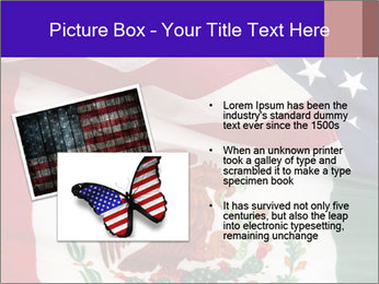 Mexican and American flags PowerPoint Template - Slide 20
