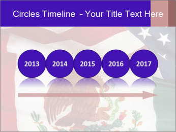 Mexican and American flags PowerPoint Template - Slide 29