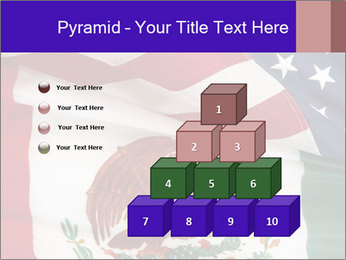 Mexican and American flags PowerPoint Template - Slide 31