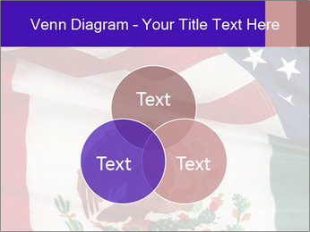 Mexican and American flags PowerPoint Template - Slide 33