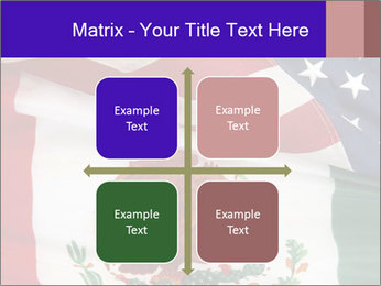 Mexican and American flags PowerPoint Template - Slide 37