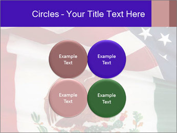 Mexican and American flags PowerPoint Template - Slide 38