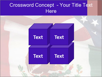 Mexican and American flags PowerPoint Template - Slide 39