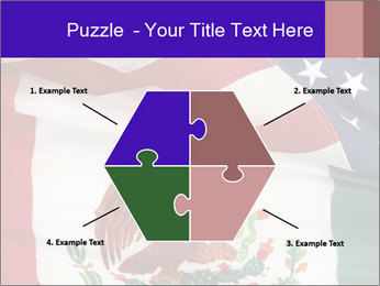 Mexican and American flags PowerPoint Template - Slide 40