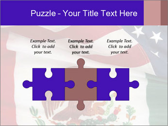 Mexican and American flags PowerPoint Template - Slide 42