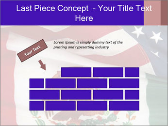 Mexican and American flags PowerPoint Templates - Slide 46