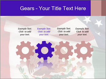 Mexican and American flags PowerPoint Template - Slide 48