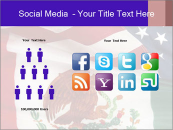 Mexican and American flags PowerPoint Template - Slide 5