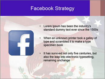 Mexican and American flags PowerPoint Template - Slide 6