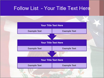 Mexican and American flags PowerPoint Template - Slide 60