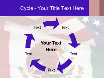 Mexican and American flags PowerPoint Template - Slide 62