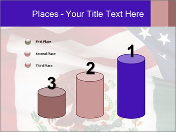 Mexican and American flags PowerPoint Template - Slide 65