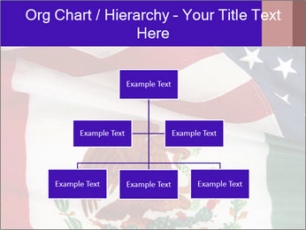 Mexican and American flags PowerPoint Templates - Slide 66