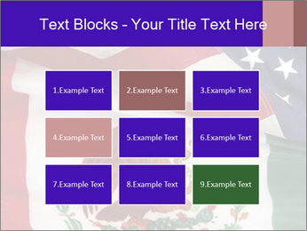 Mexican and American flags PowerPoint Template - Slide 68
