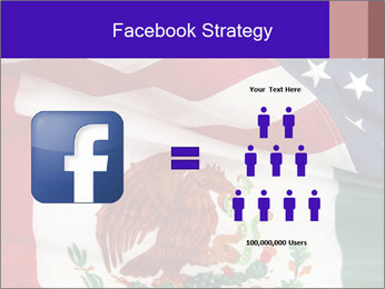 Mexican and American flags PowerPoint Template - Slide 7