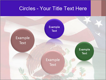 Mexican and American flags PowerPoint Template - Slide 77