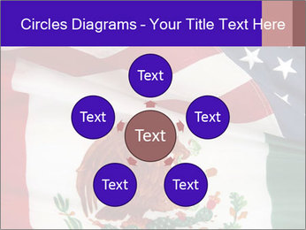 Mexican and American flags PowerPoint Template - Slide 78
