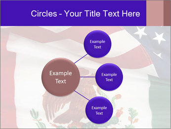 Mexican and American flags PowerPoint Template - Slide 79