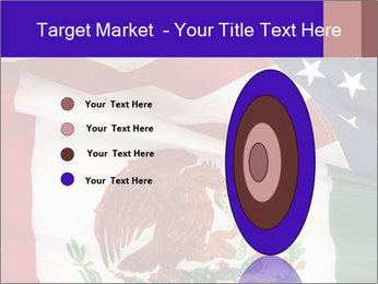 Mexican and American flags PowerPoint Template - Slide 84