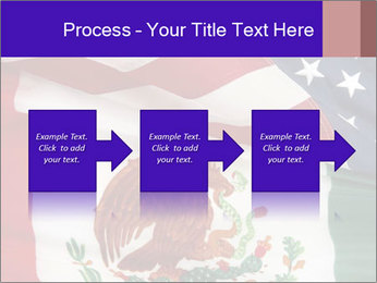 Mexican and American flags PowerPoint Template - Slide 88