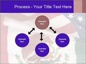 Mexican and American flags PowerPoint Template - Slide 91