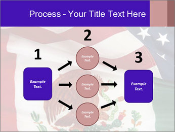 Mexican and American flags PowerPoint Template - Slide 92