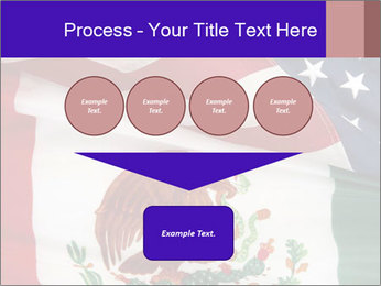 Mexican and American flags PowerPoint Template - Slide 93