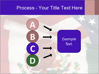 Mexican and American flags PowerPoint Template - Slide 94