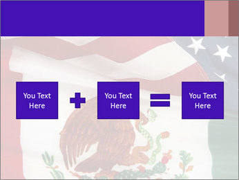 Mexican and American flags PowerPoint Template - Slide 95