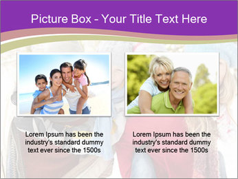 Family Having Fun Snowy PowerPoint Template - Slide 18