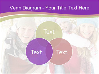 Family Having Fun Snowy PowerPoint Template - Slide 33