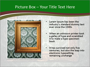 Frames on the wall PowerPoint Template - Slide 13