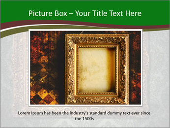 Frames on the wall PowerPoint Template - Slide 15