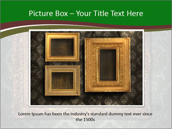 Frames on the wall PowerPoint Templates - Slide 16